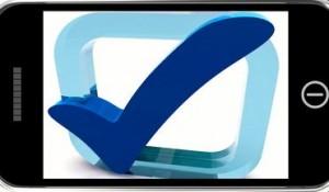 Sale Now On Online Mobile Message Shows Internet Bargains