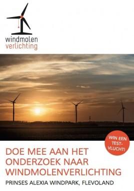 Flyer windmolenverlichting